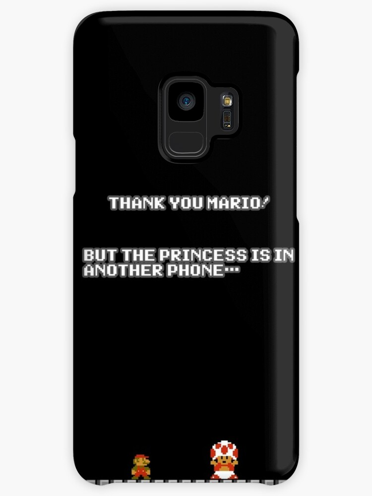 Thank You Mario Cases Skins For Samsung Galaxy By Laharl Redbubble