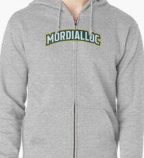 Mordialloc Uniform Wordmark Design Zipped Hoodie