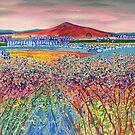 Rubers Law (acrylic on canvas) by Lynne Henderson