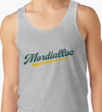 Mordialloc Old School Baseball Script Tank Top