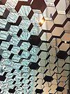 Mirrored ceiling, Harpa concert hall, Reykjavik by deepaHHV