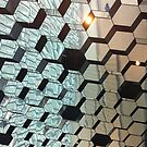 Mirrored ceiling, Harpa concert hall, Reykjavik by deepaHHV