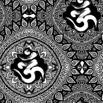 Pattern Ornamental OM  by ramanandr