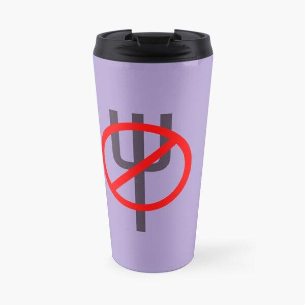 Fork Repellent Travel Mug