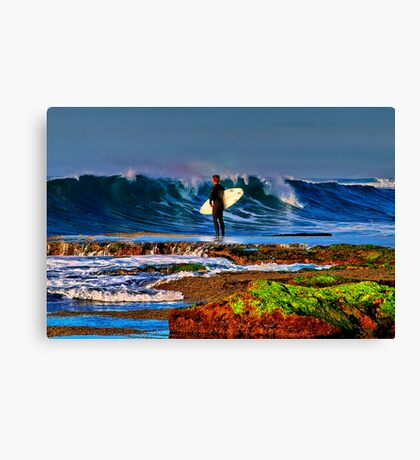 """""""Waiting For Takeoff"""" Canvas Print"""