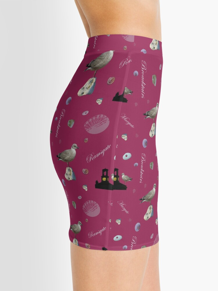 Alternate view of Thanet seaside Mini Skirt