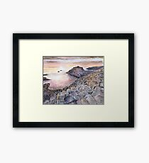 Giant's Causeway by Edward Scale Framed Print