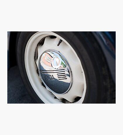 Lancia Aprilia Wheel Photographic Print