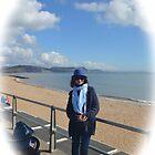 Lady in Blue......Lyme Dorset uk by lynn carter
