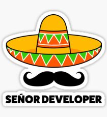 Senior developer Sticker