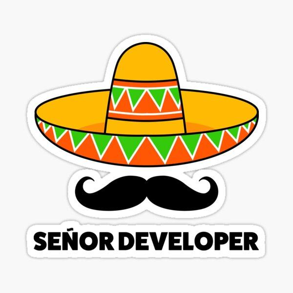 Senior developer  Sticker