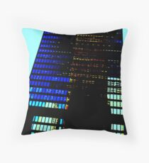 Window Effects Throw Pillow