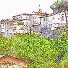 Cityscape by Giuseppe Cocco