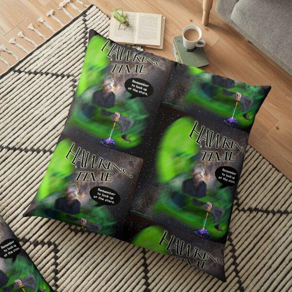 Hawking Remembered  Floor Pillow