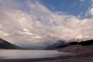 Sunset at Abraham Lake.2 by Alex Preiss