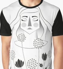 Allium Garden Graphic T-Shirt