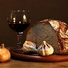 bread and wine by dagmar luhring