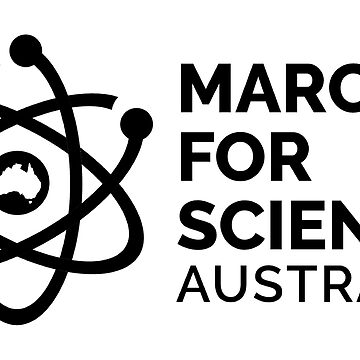 March for Science Australia logo - black, no date by sciencemarchau
