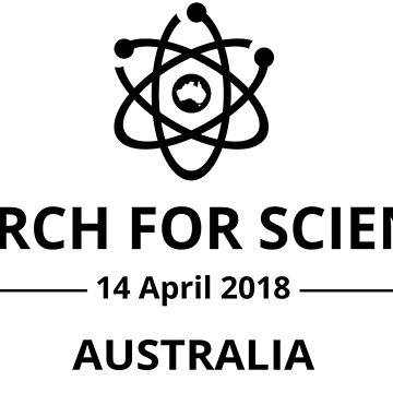 March for Science Australia logo - black by sciencemarchau