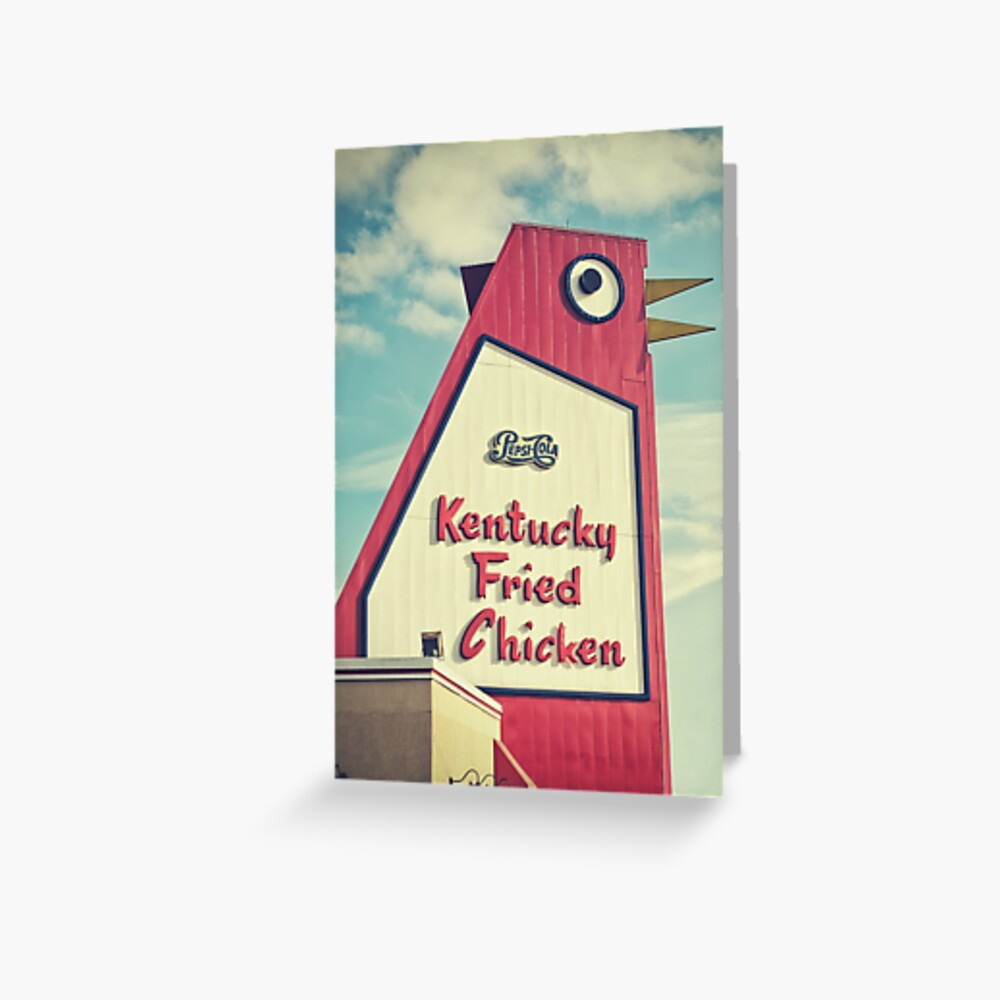 The Big Chicken Greeting Card