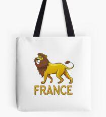 France Lion Drawstring Bags Tote Bag