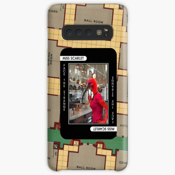 Miss Scarlet Samsung Galaxy Snap Case