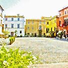 Buildings On The Town Square by Giuseppe Cocco