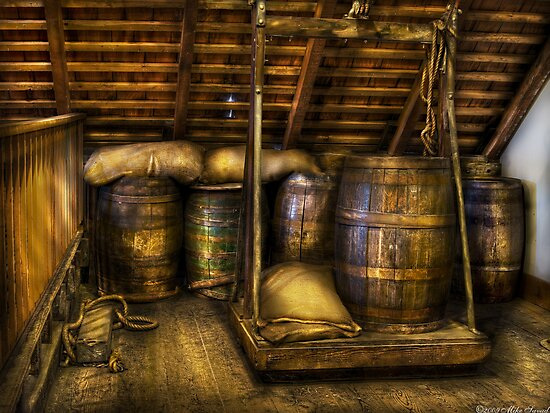 Wine Barrels by Michael Savad
