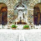 Fountain of the Municipality by Giuseppe Cocco