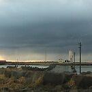 Lighthouse at Grótta at sunset by deepaHHV