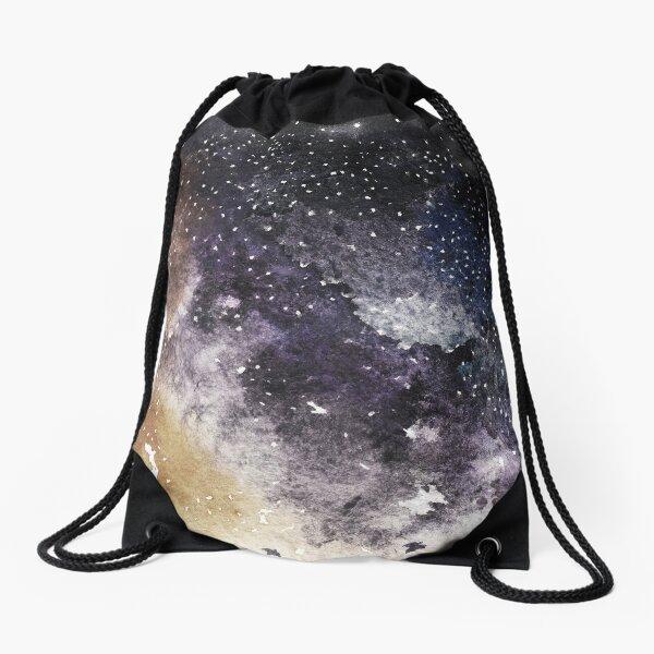 Night sky Drawstring Bag