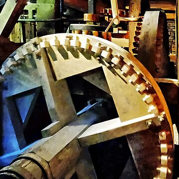 Gears in Grist Mill by SudaP0408