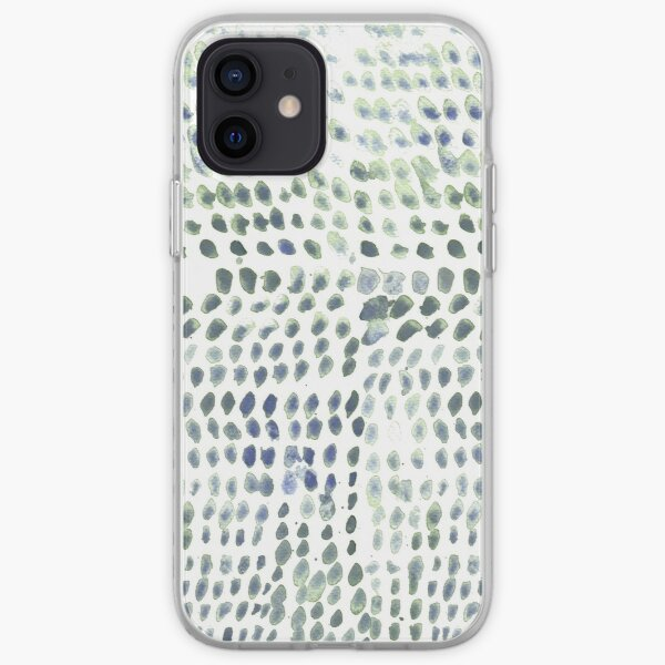 Flowing dots iPhone Soft Case