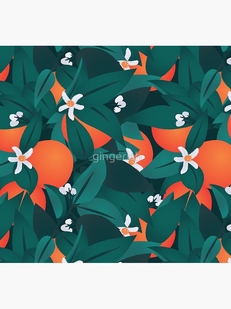 Orange Blossoms by gingerish