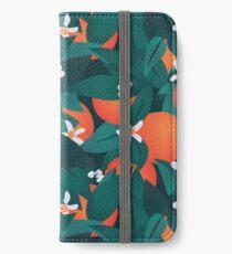 Orange Blossoms iPhone Wallet/Case/Skin