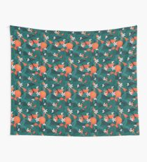 Orange Blossoms Wall Tapestry