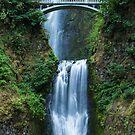 Multnomah Falls, Columbia River Gorge, Oregon by Adam Nixon