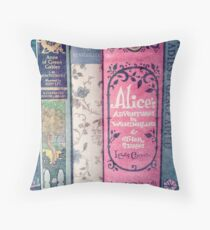 A Perfect Libraray Throw Pillow
