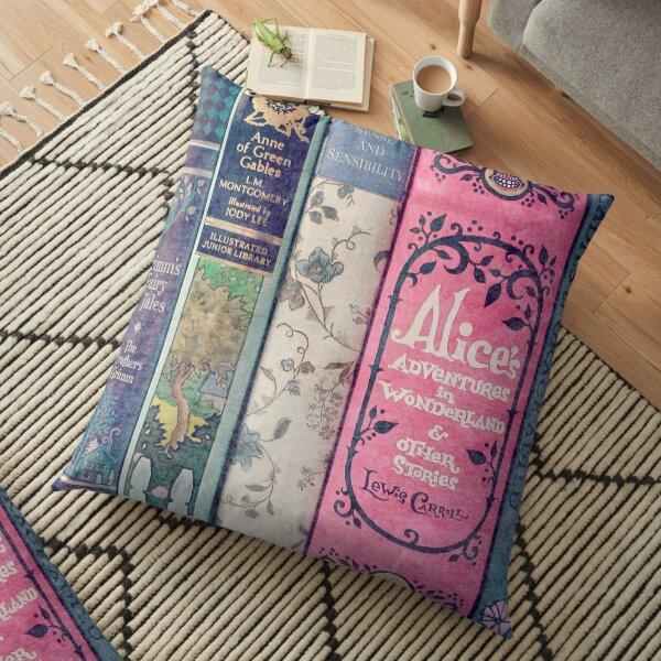 A Perfect Libraray Floor Pillow