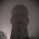 Water tower in Montmartre, Paris by 64iso