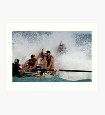Why bow seat is so much fun... Art Print