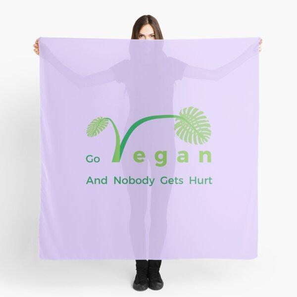 Go Vegan And Nobody Gets Hurt. Scarf