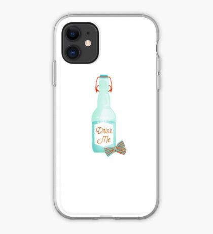 Drink me iPhone Case