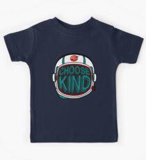 WÄHLE KINDERHEIT | Wir entscheiden uns dafür, Anti-Mobbing-Nachricht zu sein! Kinder T-Shirt