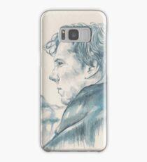 A Study In Blue - Sherlock Samsung Galaxy Case/Skin