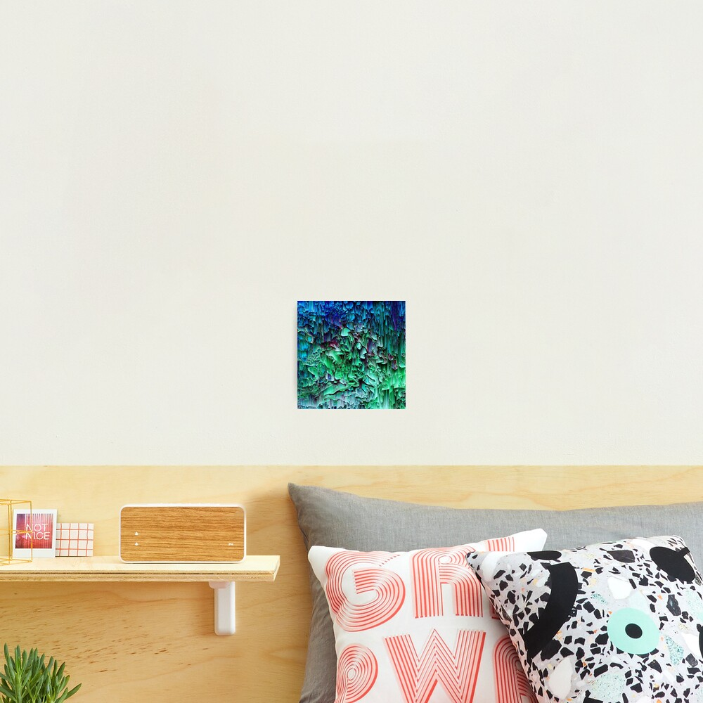 What the Glitch - Pixel Art Photographic Print