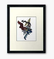 Monster Hunter - Fan Art Framed Print
