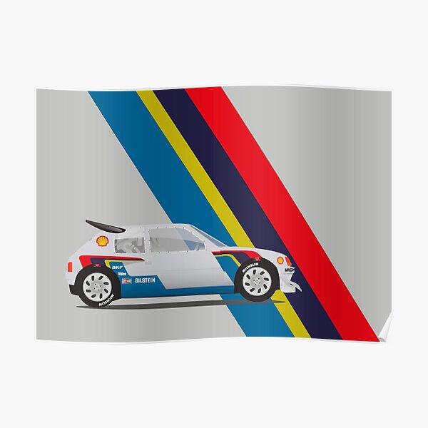 Peugeot Rallye T16 Poster