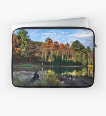 Scenic Autumn Landscape Laptop Sleeve