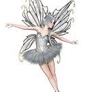 Ballerina Winter Fairy - 2 by algoldesigns